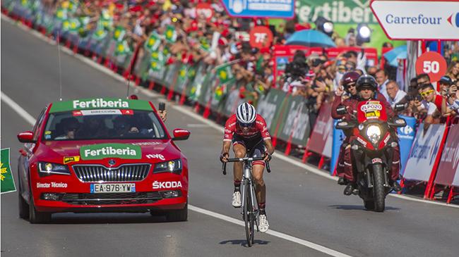 Cómo seguir la Vuelta a España en coche