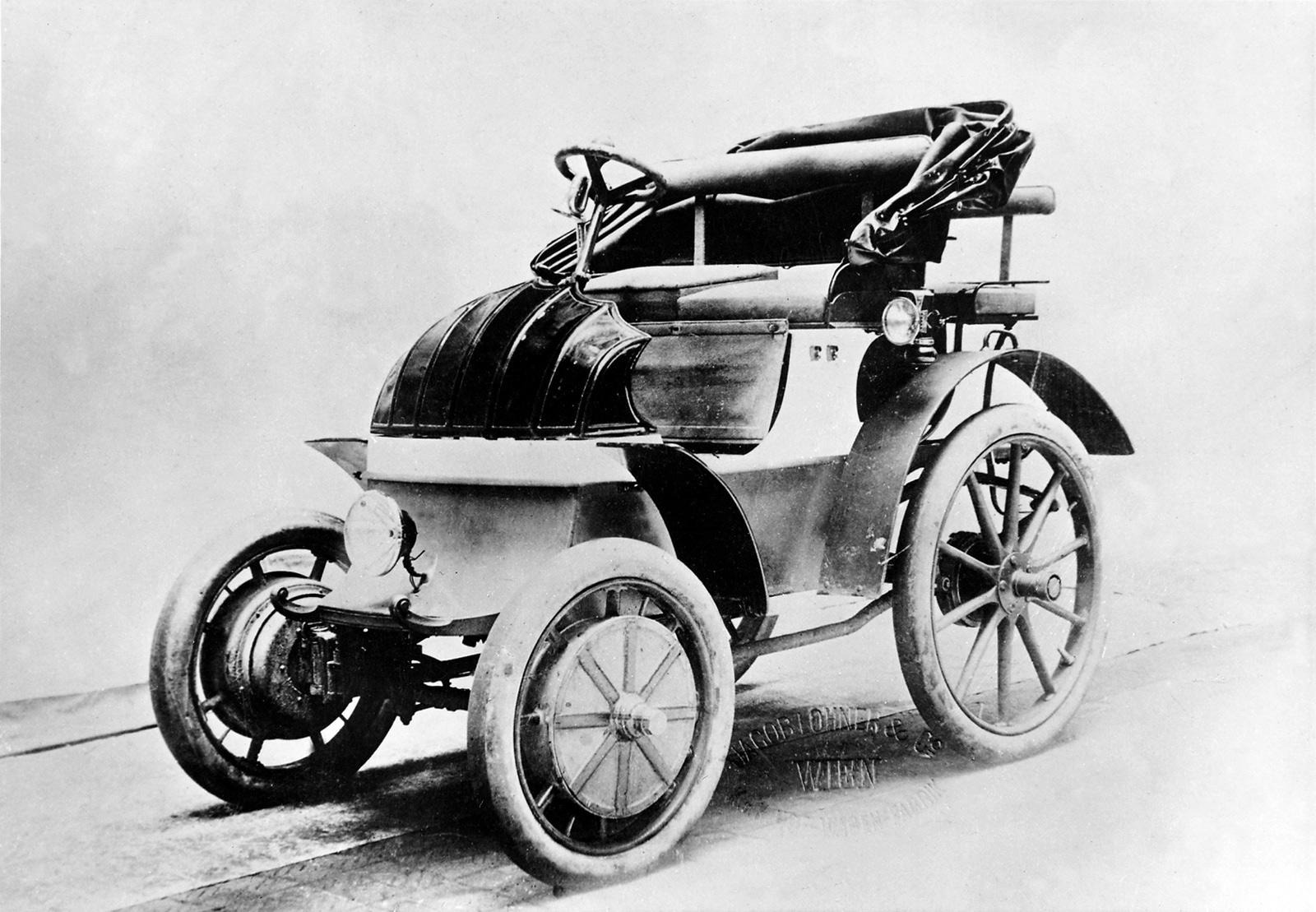 lohner porsche elektromobil