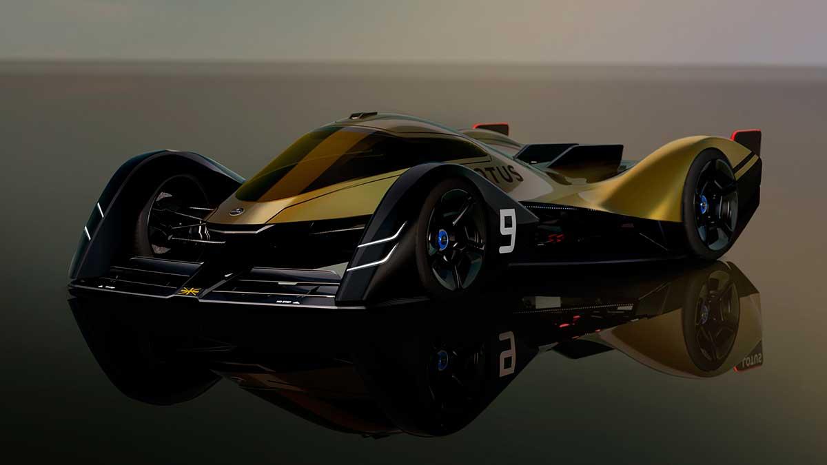 Lotus E-R9: así imagina la firma británica el coche de competición del futuro