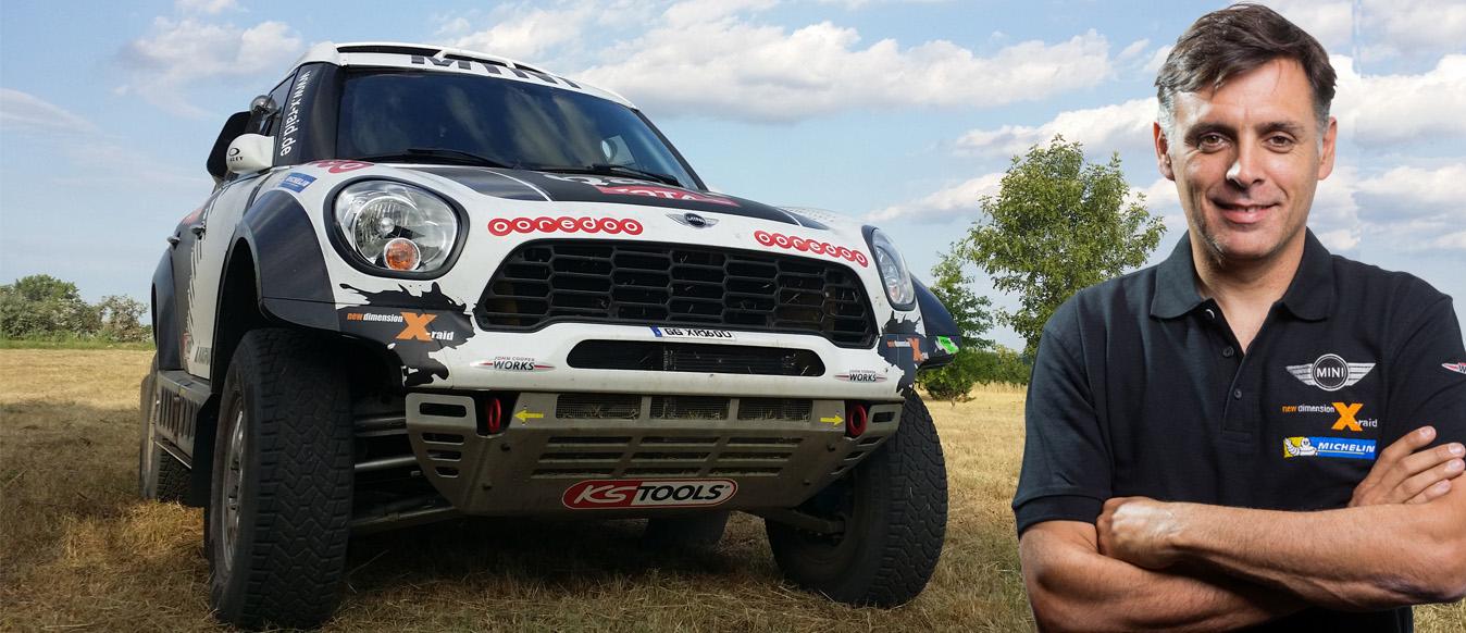 Lucas Cruz nos cuenta como es este Dakar 2014