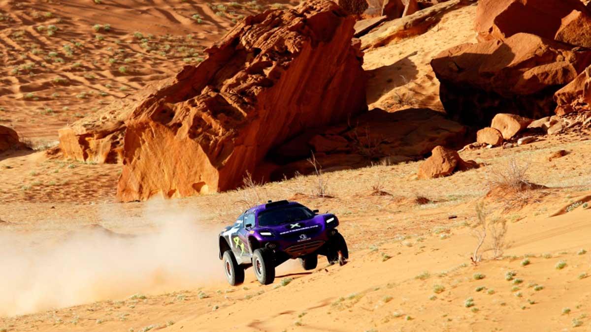 Desert X Prix: el equipo Rosberg X vence en la primera prueba del Extreme E