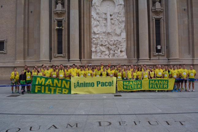 Los corredores de MANN-FILTER completan 3.027 km en el Maratón de Zaragoza 2014