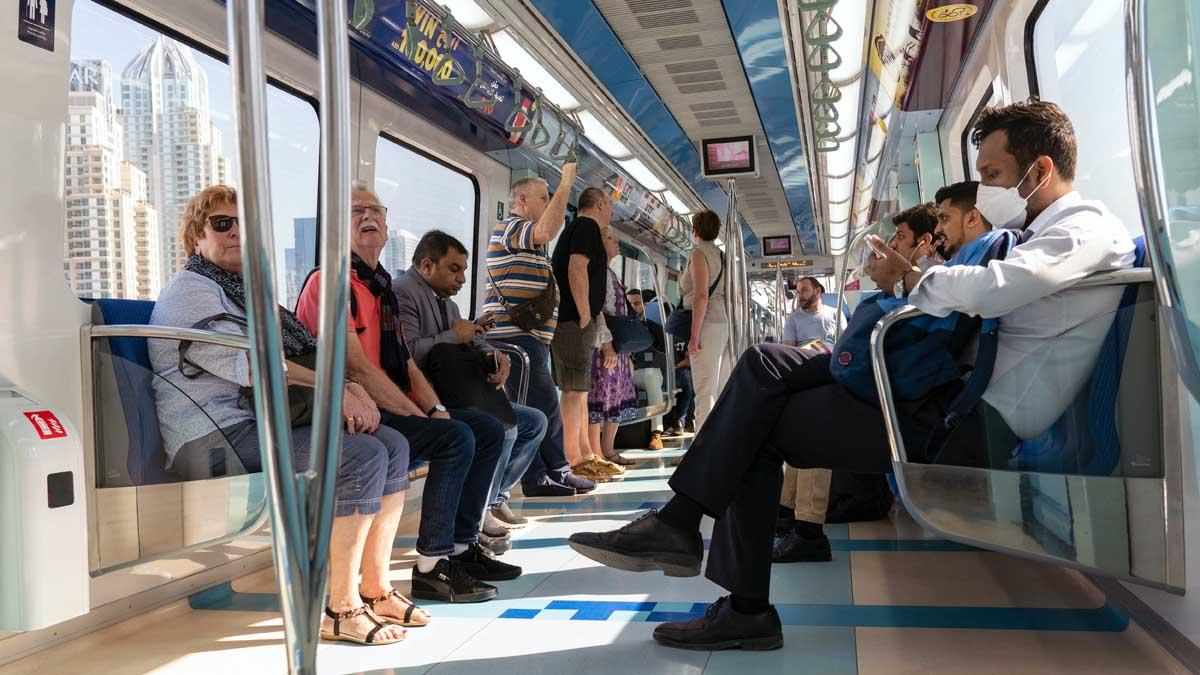 Transporte público: la mascarilla ya es obligatoria