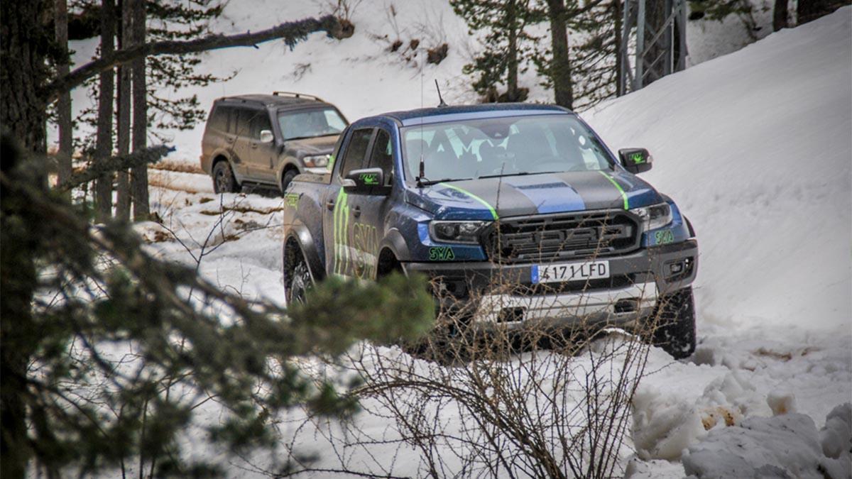masia pelarda ford ranger raptor nieve
