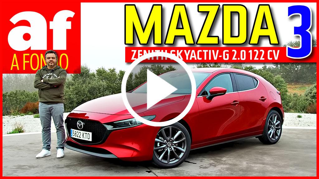 Vídeo: review y prueba a fondo del Mazda3 SKYACTIV-G 2.0 2019