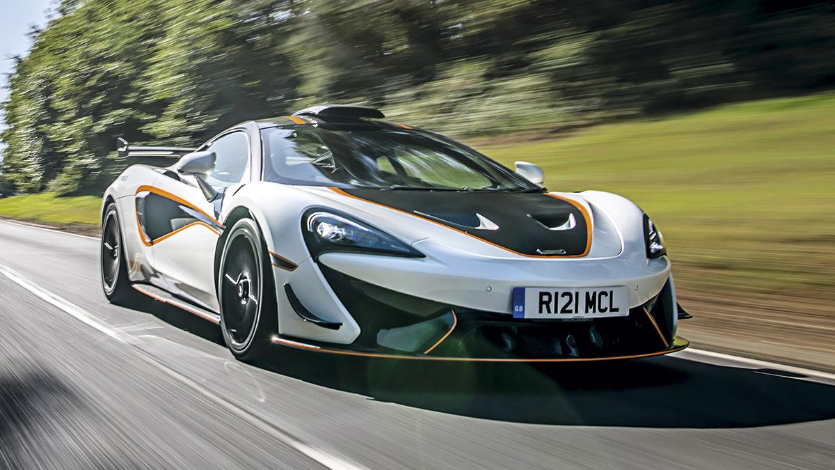 Prueba McLaren 620R: un coche de circuito para la carretera