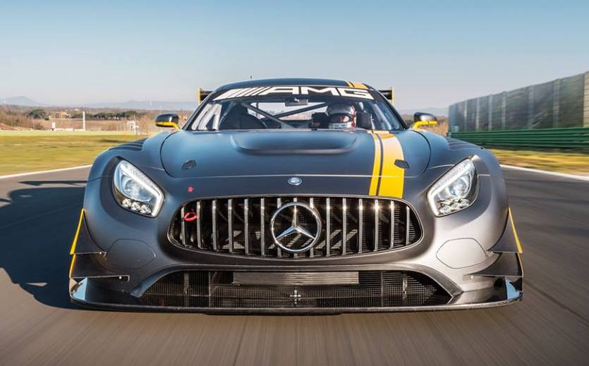 El Mercedes AMG GT3 ya rueda por Nürburgring