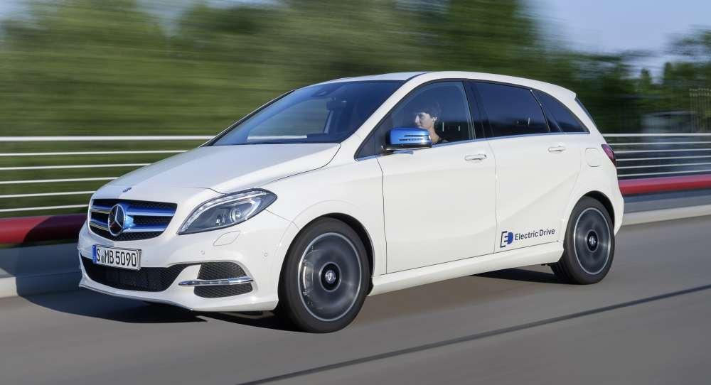 Mercedes Clase B Electric Drive: primera prueba