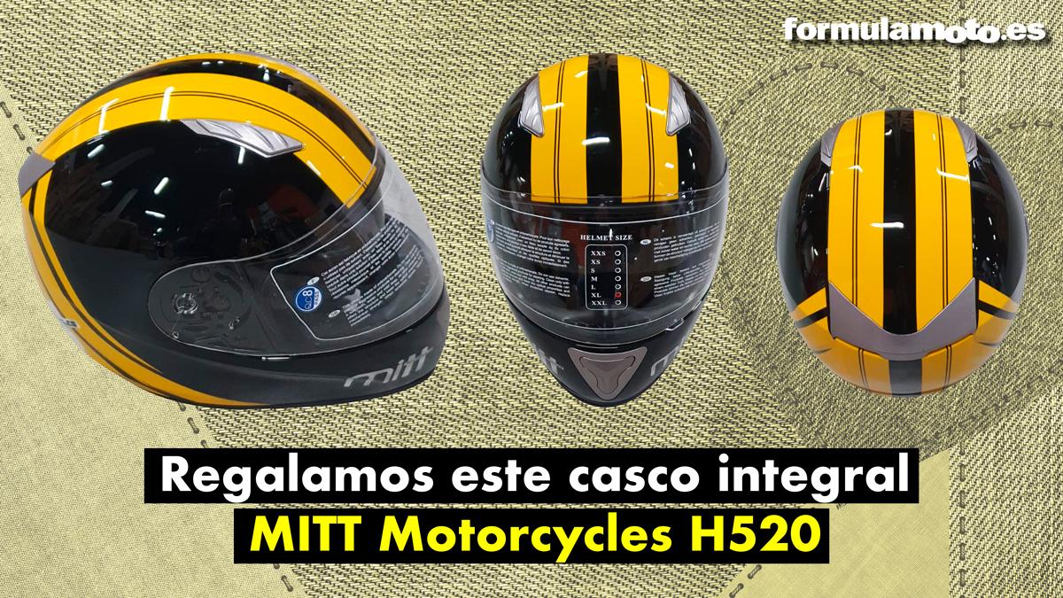 ¡Te regalamos un casco MITT Motorcycles H520!