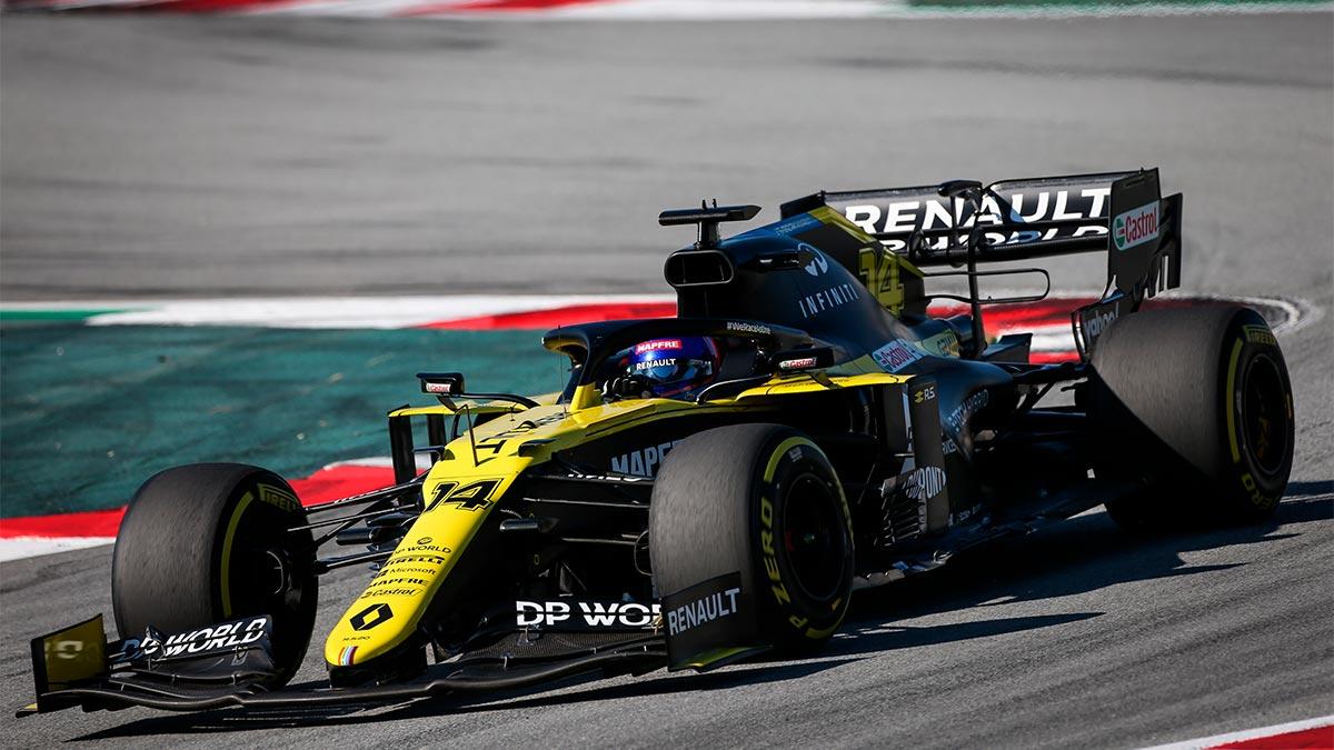 Fernando Alonso prueba el Renault R.S.20 de F1: »ahora mismo, el coche es más rápido que yo»