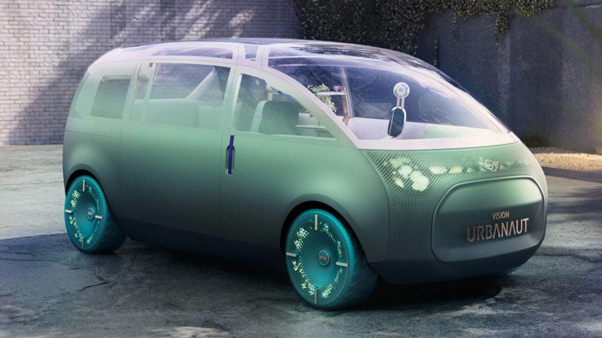 Mini Vision Urbanaut: así imagina Mini su futuro monovolumen autónomo