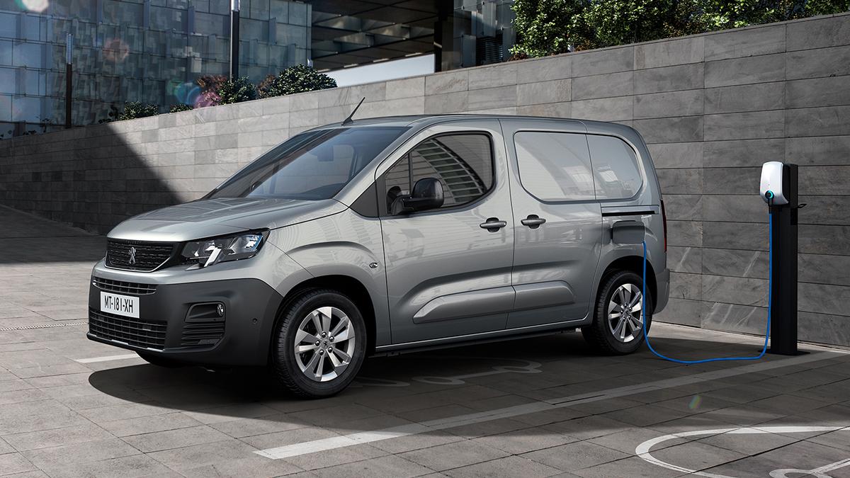 Nuevo Peugeot e-Partner 2021: una furgoneta eléctrica con 275 km de autonomía
