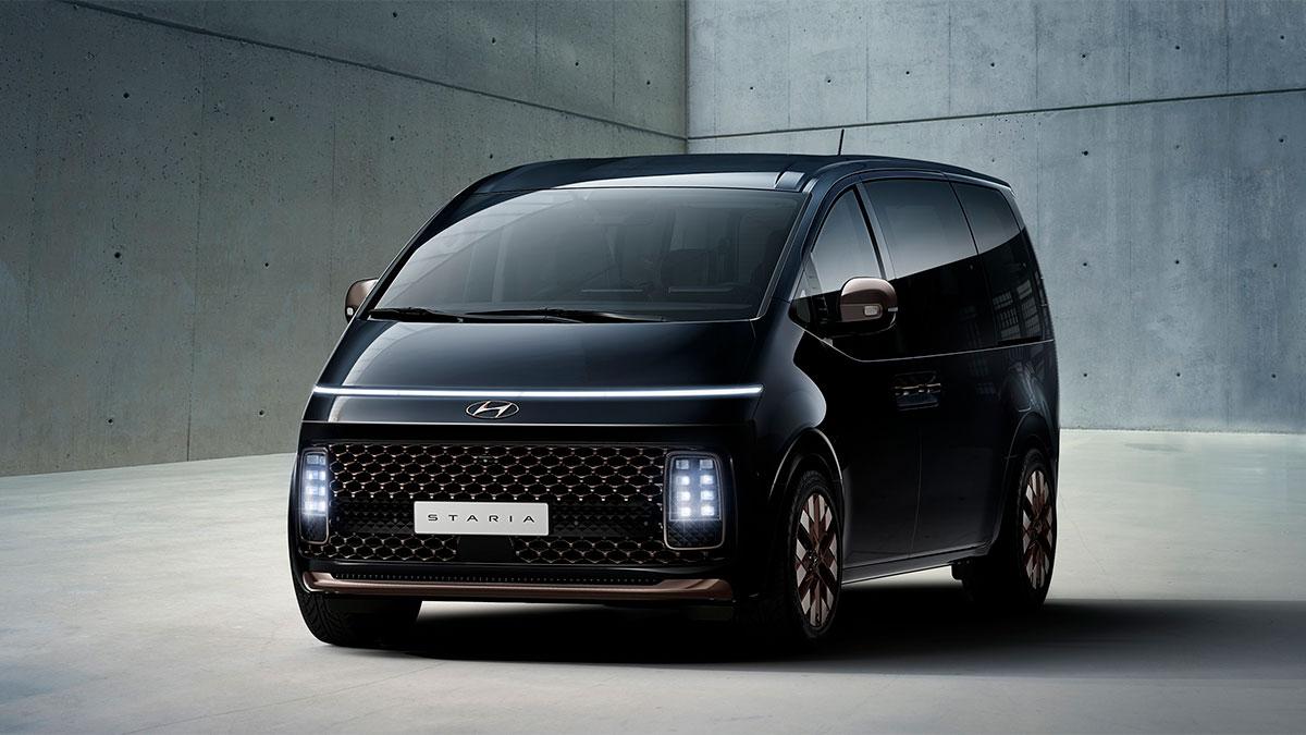 Primeros detalles del Hyundai Staria 2021, el nuevo monovolumen de lujo de la firma coreana