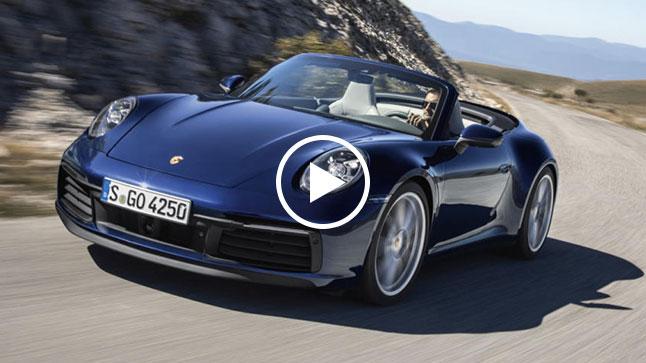 Vídeo: Porsche 911 Cabriolet 2019, 450 CV a cielo abierto