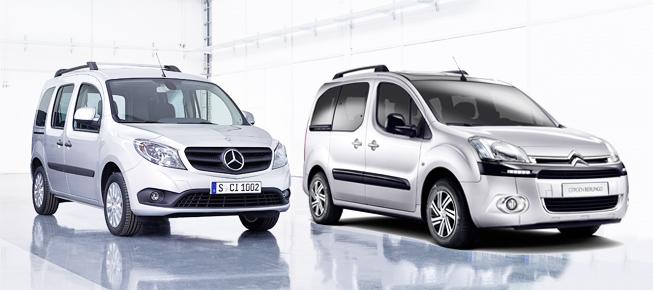 Mercedes Citan vs Citroën Berlingo
