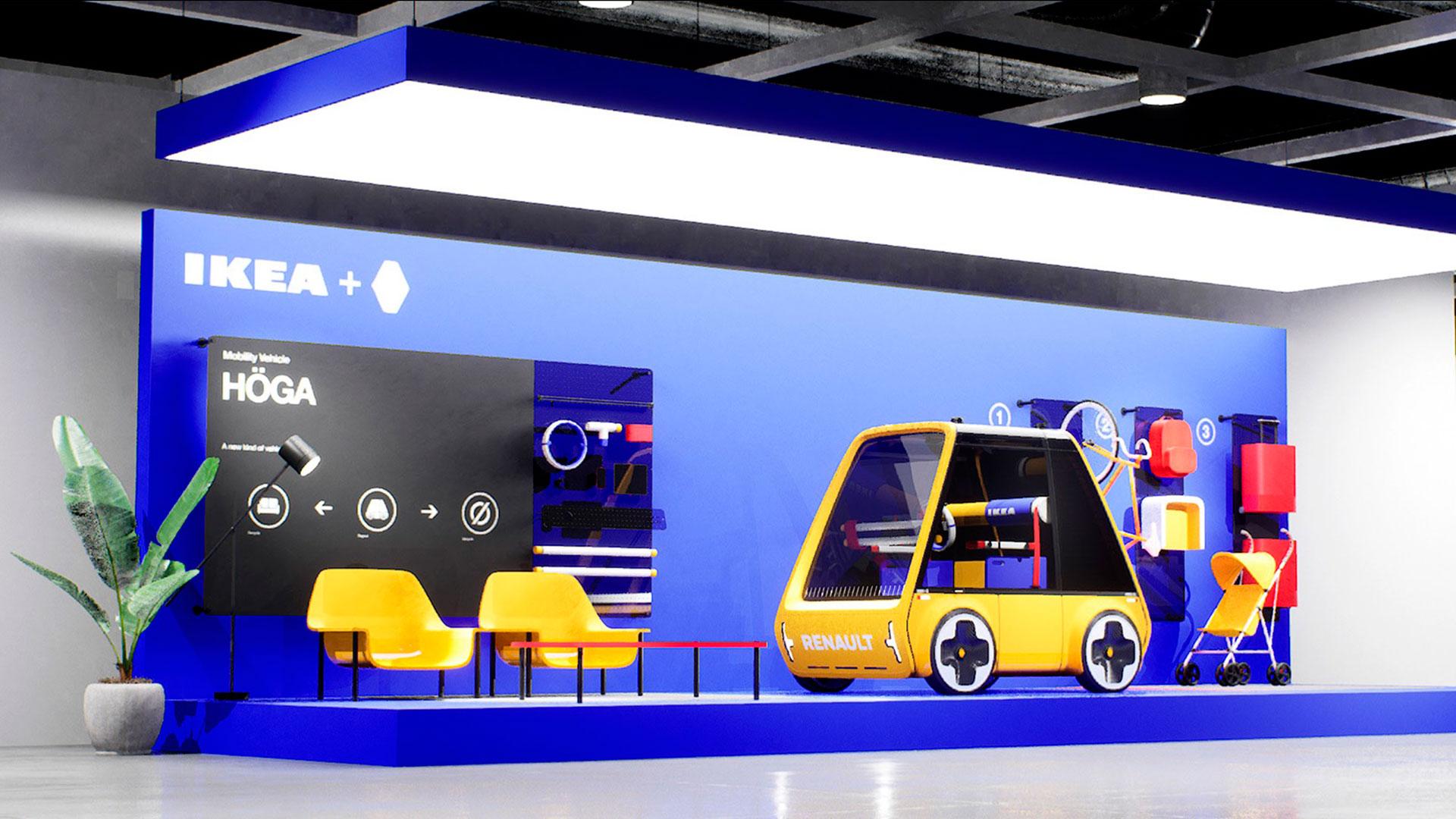 Renault Höga: un prototipo eléctrico que aplica el concepto Ikea al mundo del automóvil