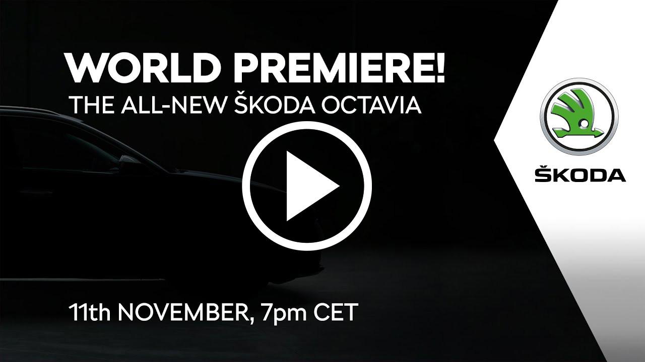 Nuevo Skoda Octavia 2020, sigue la presentación en directo en Autofácil