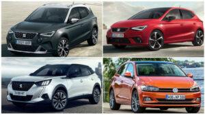 Los 10 coches más vendidos en abril de 2021