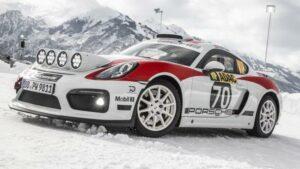 Fotos del Porsche Cayman GT4 Rallye