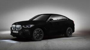 Fotos del BMW X6 Vantablack