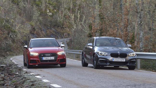 Audi S3 vs BMW M140i: los rivales del Mercedes-AMG A 35