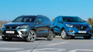 Fotos de la comparativa Renault Kadjar vs Seat Ateca