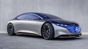 Fotos del Mercedes-Benz Vision EQS