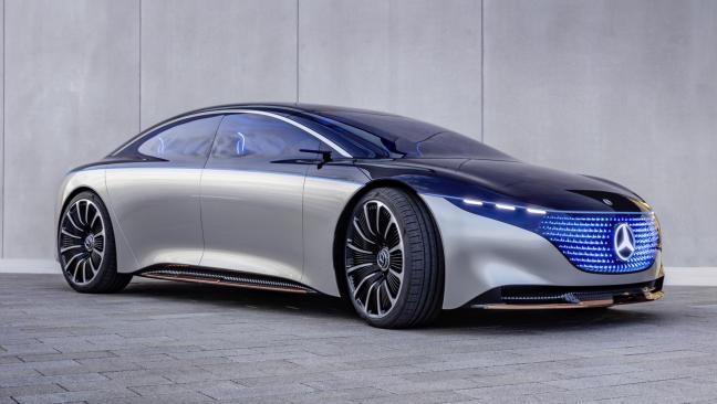 Mercedes-Benz Vision EQS: un vistazo al futuro de la marca