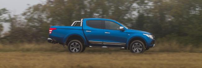 Fotos de la prueba del Fiat Fullback
