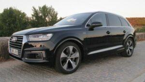 Fotos del Audi Q7 e-tron