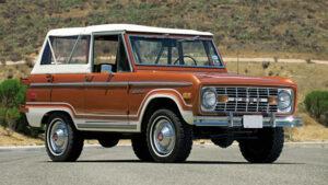 Fotos del Ford Bronco de primera generación