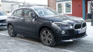 Fotos espía del BMW X2 Eléctrico