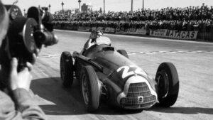 Fotos de los campeones del Mundo de Formula 1 (1950-1974)