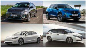Los 10 coches eléctricos más vendidos en enero de 2021