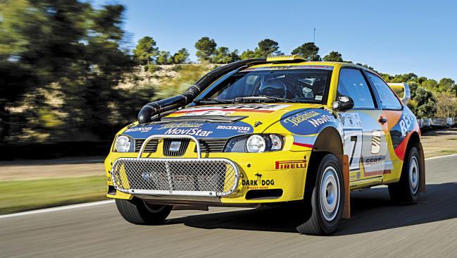 Seat Córdoba WRC: ¡cómo para no volver a probarlo!