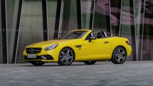 Fotos del Mercedes SLC Final Edition