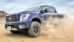 Fotos de la prueba del Nissan Titan