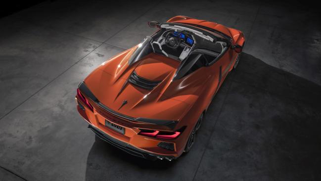 Fotos: Chevrolet Corvette Stingray Convertible