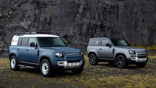 Llegan a España los Land Rover Defender Hard Top