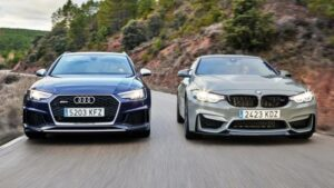 Fotos de la comparativa: Audi RS 4 Avant vs BMW M4 CS