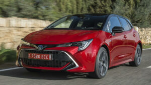 Fotos del Toyota Corolla 180H Advance a prueba