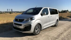 Fotoprueba del Peugeot Traveller