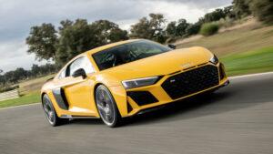 Fotos del Audi R8 V10 Coupe 2019 en acción