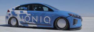 Fotos del Hyundai Ioniq híbrido más veloz