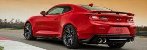 Chevrolet Camaro ZL1: más potencia, menos peso
