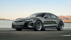 Fotos del Audi e-tron GT Concept