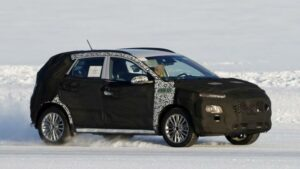 Fotos espía del Hyundai Kona restyling