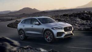 Fotos del Jaguar F-Pace SVR