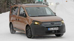 Fotos espía del Volkswagen Caddy 2020