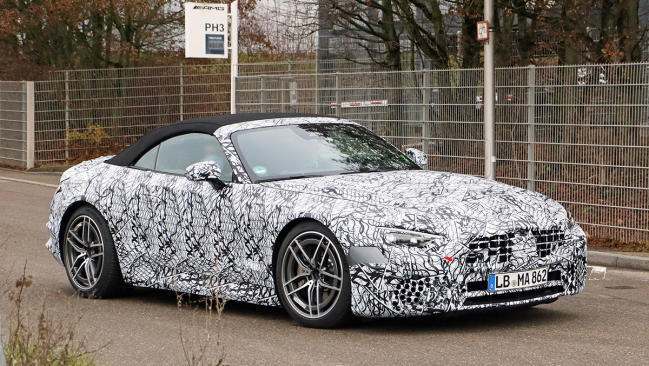 Nuevo Mercedes-Benz SL 2022: ¡cambio de generación a la vista!